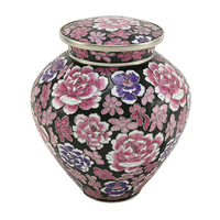 Filigree Floral Pink Cloisonné - Large/Adult