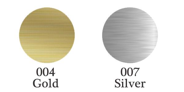 fdc 2801 brushed finish metallic sign and self adhesive vinyl