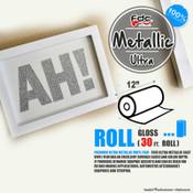 "Premium Ultra Metallics Vinyl - FDC 3700 - 12"" x 30ft"