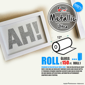 "Premium Ultra Metallics Vinyl - FDC 3700 - 12"" x 150ft"