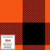 "Siser EasyPatterns 2 - 12"" wide - Buffalo Plaid Orange"