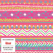 "Siser EasyPatterns 2 - 12"" wide - Bohemian Stripes"