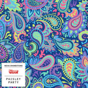 """Siser EasyPSV Patterns - 12"""" wide - Paisley Party"""