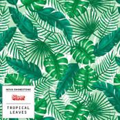 """Siser EasyPSV Patterns - 12"""" wide - Tropical Leaves"""