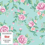 """Siser EasyPSV Patterns - 12"""" wide - Vintage Rose"""