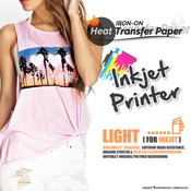 Textile Print - Inkjet Printer / White or Light Colored Garments