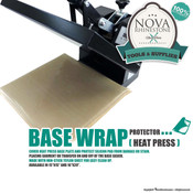 Heat Press Base Wrap Protector