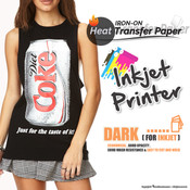 Textile Print - Inkjet Printer / Dark Colored Garments