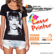 Textile Print - Laser Printer / Dark Colored Garments