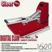 "SISER 16""x20"" DIGITAL CLAM Heat Press"
