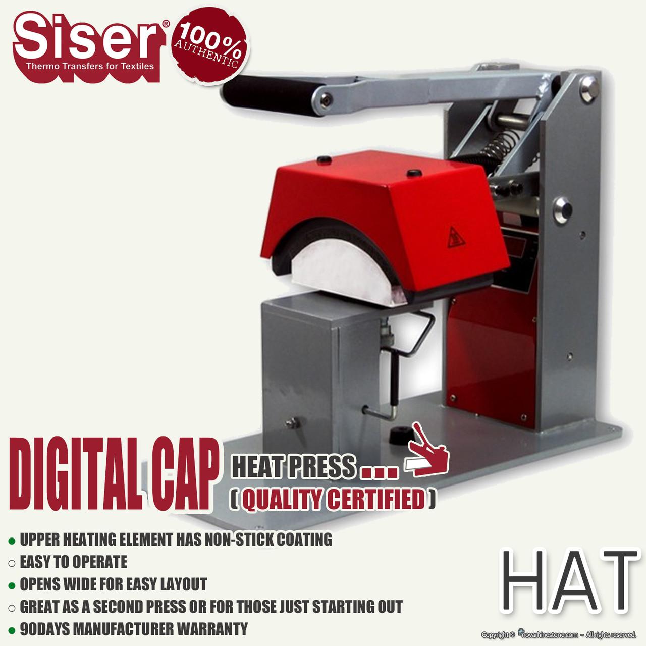 SISER DIGITAL CAP Heat Press
