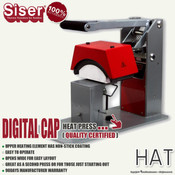 SISER DIGITAL CAP Heat Press