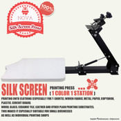 NOVA SILK SCREEN PRESS - 1 Color 1 Station