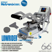 "STAHLS' Hotronix® LOWRIDER Heat Press 6""x6"""