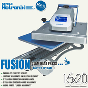 "STAHLS' Hotronix® FUSION™ Heat Press 16""x20"""