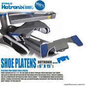Stahls' Hotronix® Heat Press Shoe Platens