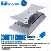 Stahls' Hotronix® Heat Press Counter Caddie™ Stand