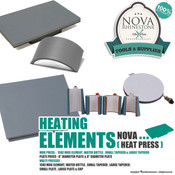 Nova Heat Press Heating Elements