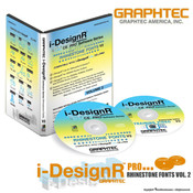 Graphtec i-DesignR® Series Rhinestone Fonts - Vol. 2