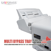 """Sawgrass Virtuoso SG800, SG1000 Multi BYPASS TRAY for Larger Format (13""""x19"""")"""