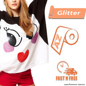 Siser Glitter HTV - All Sizes - FAST N FREE