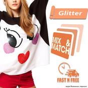 Siser Glitter HTV - Mix & Match - FAST N FREE