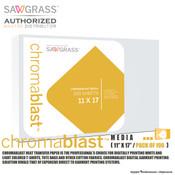 """Sawgrass ChromaBlast Media - 11""""x17"""" / Pack of 100 Sheets"""
