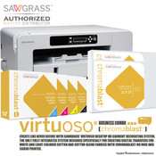 Sawgrass ChromaBlast Virtuoso SG800 HD Garment Decorating System for Cotton Fabric
