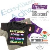 "Siser EasyWeed Adhesive - 12"" x 12"" Sheet"