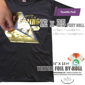 "NRD Textile Foil - 12"" x 25' Roll"