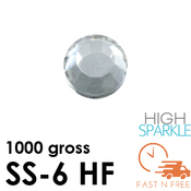 SS-6 NRD High Sparkle Rhinestones Hot Fix - Bulk - FAST N FREE