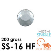 SS-16 NRD High Sparkle Rhinestones Hot Fix - Bulk - FAST N FREE