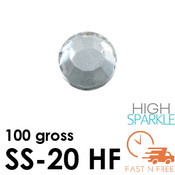 SS-20 NRD High Sparkle Rhinestones Hot Fix - Bulk - Fast N Free
