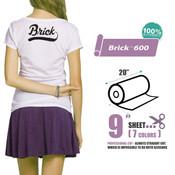 "Siser Brick 600 - 20""x9"" Sheet"