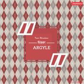 Siser EasyPatterns - ARGYLE MAROON