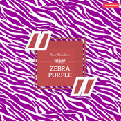 Siser EasyPatterns - Zebra Purple & White