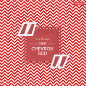 Siser EasyPatterns - Chevron Red & White