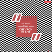 Siser EasyPatterns - Chevron Black & White