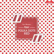 Siser EasyPatterns - Polka Dot Red & White