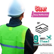 "Siser Easy Reflective™ - 20"" x 9"" Sheet"