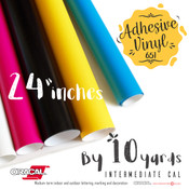 "ORACAL 651 Gloss, Crafting Adhesive Vinyl -  24"" x 10 Yards"