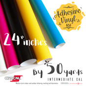 "ORACAL 651 Gloss, Crafting Adhesive Vinyl -  24"" x 50 Yards"