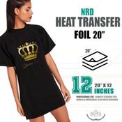 "NRD HTV FOIL - 20"" x 12"" Sheet"