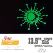 "Siser EasyPSV - Permanent GLOW Adhesive Vinyl - 12"" x 13.5"""