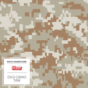 "Siser EasyPatterns 2 - 12"" wide - Digi Camo Tan"