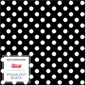 "Siser EasyPatterns 2 - 12"" wide - Polka Dot Black"