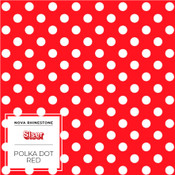 "Siser EasyPatterns 2 - 12"" wide - Polka Dot Red"