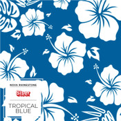 "Siser EasyPatterns 2 - 12"" wide - Tropical Blue"