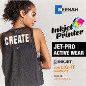 Jet PRO Active Wear  - Inkjet Printer / White or Light Colored Garments