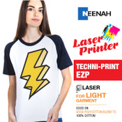 Techni Print EZP - Laser Printer / White or Light Colored Garments